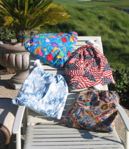 Beach Tote Bags come in a wide variety of patterns